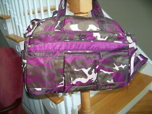LUG AIRBUS Camo Camouflage Berry Affinity Pockets Compartments NEW WITH TAGS