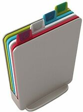 Joseph Joseph Index Chopping Board Set, Mini - Silver, Set Of 4 UK POST FREE