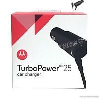 Motorola Turbo 25W Dual Port Rapid Car Charger For DROID, TURBO2, MOTO X,Nexus.