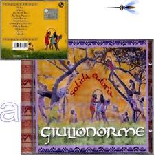 """GIULIODORME """"SOLIDA EUFORIA"""" RARO CD 2002 - FUORI CATALOGO"""