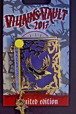 Disney Pins - DLR - Villains Vault 2017 - Maleficent Story Book - LE 1000
