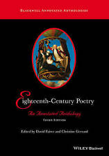 Eighteenth-Century Poetry: An Annotated Anthology (Blackwell Annotated Anthologi