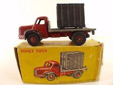 Dinky Toys F n° 34B  BERLIET camion plateau avec container en boite