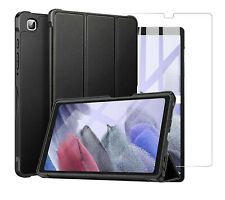 For Samsung Galaxy Tab A7 Lite  Smart Case Stand Cover & Glass Screen Protector