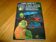 TERRY PRATCHETT-THE COLOUR OF MAGIC-SIGNED-1ST-2004-HB-VG-HILL HOUSE-ULTRA RARE