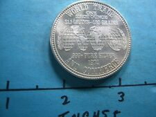1974 VINTAGE WORLD TRADE & COMMERCE 999 SILVER COIN #2 RARE