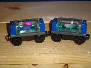 SODOR AQUARIUM CARS SHARK & SQIUD THOMAS & Friends Wooden Railway 2003