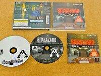 PS1 Biohazard Directors Cut Dual Shock Version Resident Evil sony from japan