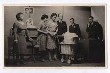 PHOTO Camp prisonnier 1942 Allemagne L. Mees Hauser Théâtre Travestissement