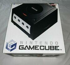Empty Console Box for Nintendo Gamecube Black Repro