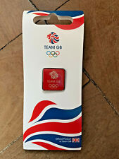 LONDON 2012 OLYMPIC TEAM GB PIN / BADGE RED COLOUR BRAND NEW AND SEALED