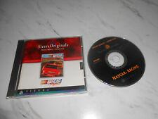 NASCAR Racing 1 PC Spiel CD Rom Sierra Originals Autorennen * Gleichen Tag Versand *