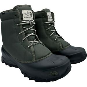 THE NORTH FACE TSUMORU NEW TAUPE GREEN WATERPROOF MEN'S BOOTS US SIZE 10