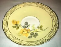 Royal Sutherland Ceramic Tea Cup Saucer Plate 🟨 Rare Yellow Color From England