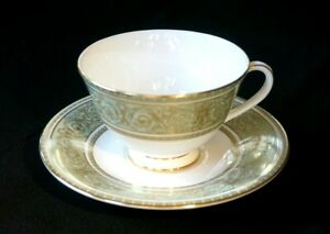 Beautiful Royal Doulton English Renaissance Cup And Saucer