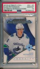 Elias Pettersson Canucks 2018-19 UD Ultimate Collection Introductions RC PSA 10