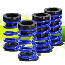 "FOR 95-04 CHEVY CAVALIER FRONT+REAR RACING COILOVER 0-3""LOWERING SPRING BLUE"