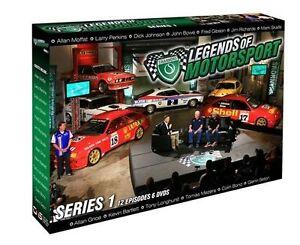 Shannon's Legends Of Motorsport : Series 1 (DVD, 2015, 6-Disc Set)