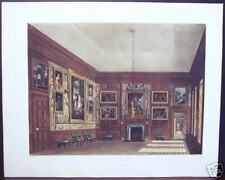 "W. H. Pyne: ""Second Presence Chamber, Hampton Court"""
