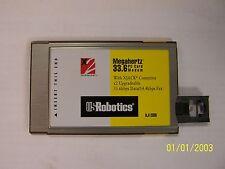 US ROBOTICS XJ1336 33.6/14.4K DATA/FAX MODEM PCMCIA XJACK