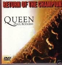 "QUEEN + PAUL RODGERS ""Return of the .... "" 2 CD + DVD RARE"