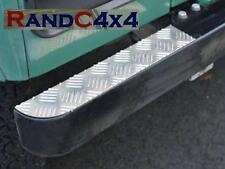 DA2062 Land Rover Defender Front Bumper Tread Plates Alloy Chequer Plate