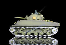 Henglong 1/16 USA M4A3 Sherman RTR RC Tank Upgraded Metal Ver Sound Smoke 3898-M