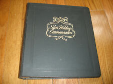 White Ace Silver Wedding Commemoratives Historical Album 1973 with stamp. Mc