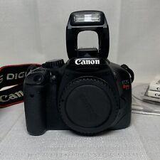 Canon Eos Rebel T2i 18Mp Digital Slr Camera Body 550D Batteries & Charger