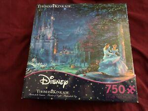 Ceaco Thomas Kinkade Disney Cindarella  750 pc puzzle