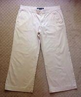 Women's Ralph Lauren Sport Cropped Khaki Capri Pants-size 8