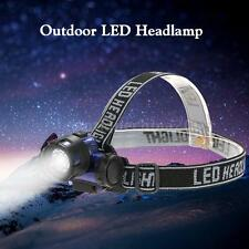 600LM LED Headlamp Flashlight HeadLamp Light Torch Camping Night Fishing AA O8Q8