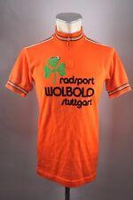 Wolbold de stuttgart bike Cycling camiseta rueda Jersey 70s talla M bw50 u6