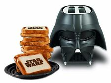 NEW Disney Star Wars DARTH VADER TOASTER helmet kitchen pangea 2-slice toast HOT