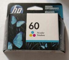 GENUINE HP 60 Tri-Color Ink Cartridge (HP CC643WN) NIB