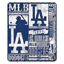 Los Angeles Dodgers Blanket 50x60 Fleece Strength Design