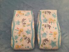 Medium Adult Baby Looney Tunes Diapers Sample Two Pack