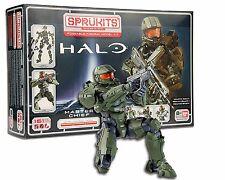 Bandai Sprukits Poseable Figural Model Kit - Halo Master Chief - Level 3 - New!