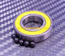 [QTY 4] S699-2RS (9x20x6 mm) Hybrid Ceramic Ball Bearing Bearings ABEC-5 699RS