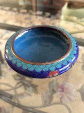 Vintage Chinese Cloisonne & Enamel Bowl No Reserve