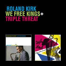 Roland Kirk, Rahsaan - We Free Kings / Triple Threat [New CD] Rmst