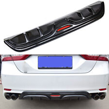 Fit For 2018-2019 Toyota Camry SE XSE Rear Bumper Carbon fiber surface Diffuser