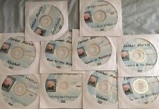 Lot Of 10 Alcoholics Anonymous Father Martin Chalk Talk DVDs Bill W Big Book AA