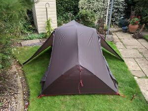 MSR Freelite 2, 3 x season tent (new other, see description)