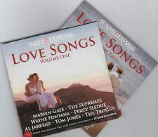 LOVE SONGS - PROMO 2 CD SET: AL JARREAU, WAYNE FONTANA, BILLY OCEAN, 10cc ETC
