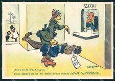 Militari Truppe Italiane Africa Orientale Deseta FG cartolina XF7303