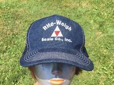 Vintage Rite-Weigh Scale Co. Trucker Hat Denim Snapback Cap OTTO
