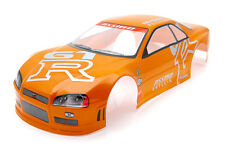 . Racing Nissan Skyline Gtr Body Shell De 190 Mm s020orange