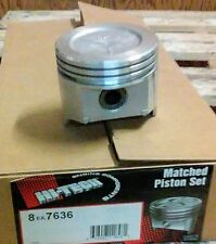 Set of 8 .030 Oversize Pistons 307 Olds Oldsmobile 1980-84