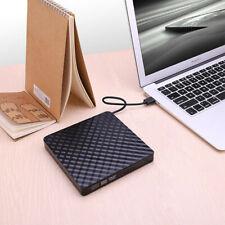External Usb 3.0 Dvd Rw Cd Writer Drive Burner Reader Player Slim for Laptop Pc